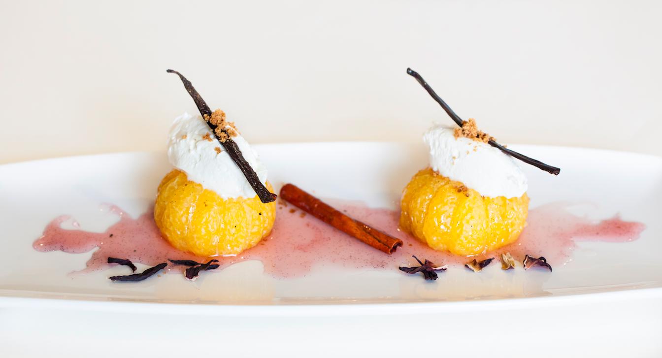 Рецепт новогоднего десерта из мандаринов