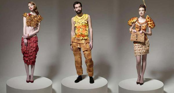 одежда из еды