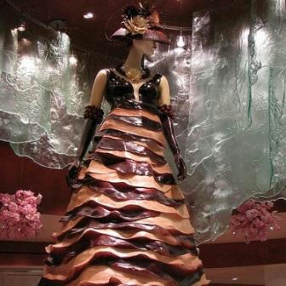 платье из еды