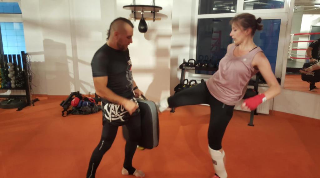приемы тайский бокс