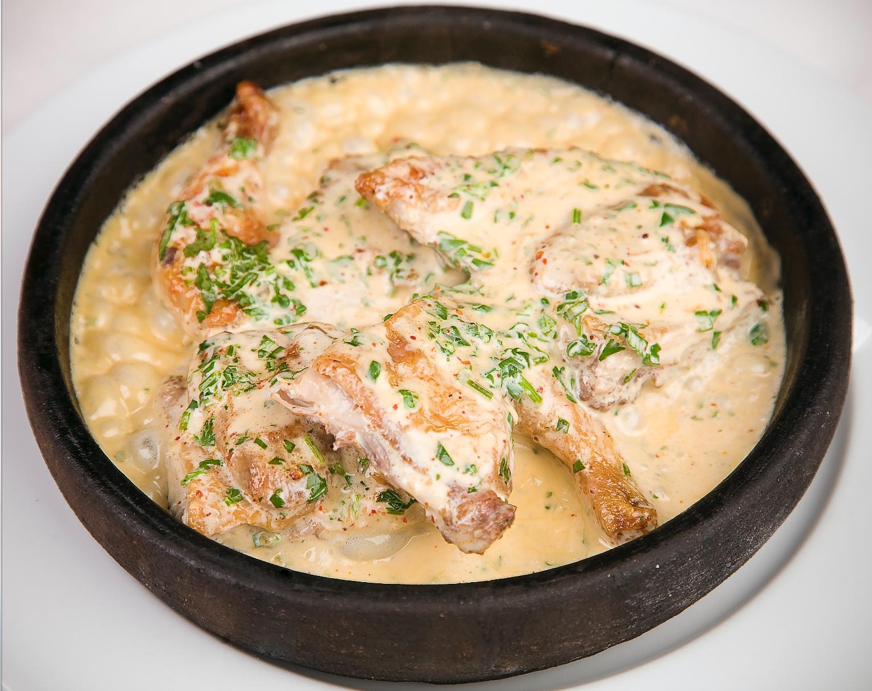 Как сделать филе в сливочном соусе