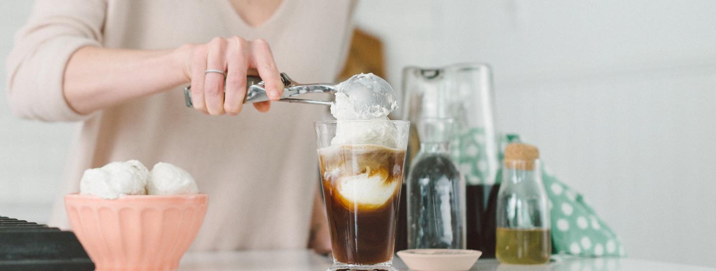 Кофе Флоат c подкопченной морской солью