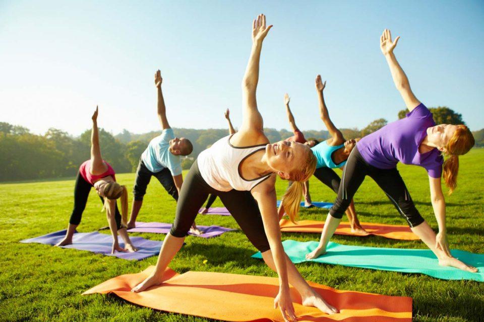 Фитнес йога в харькове