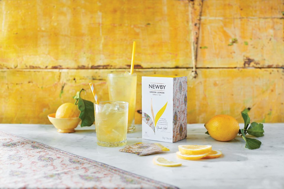 Рецепт освежающего коктейля от Newby Teas