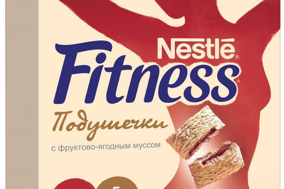 Вкус и польза в новом готовом завтраке Fitness Подушечки