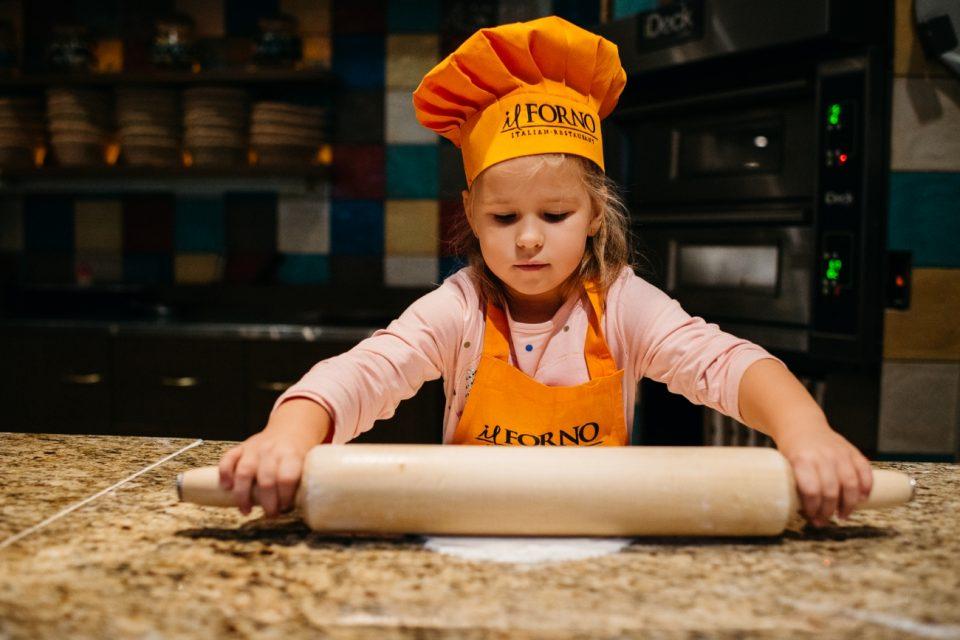 il FORNO: новый сезон детской школы пиццайоло