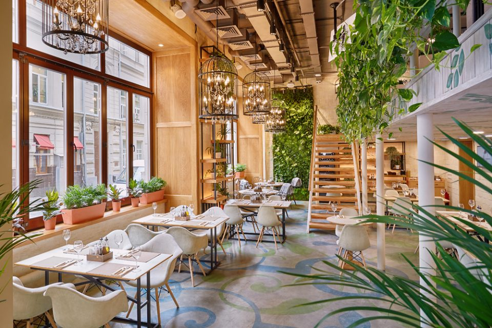 Летний сезон в Little Garden Kitchen&Bar