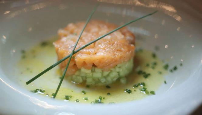 Тар-тар из лосося - рецепт приготовления