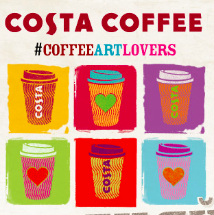 COFFEE LOVERS = ART LOVERS!