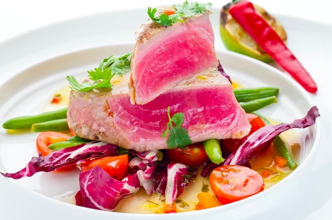 Авторский рецепт – стейк из тунца