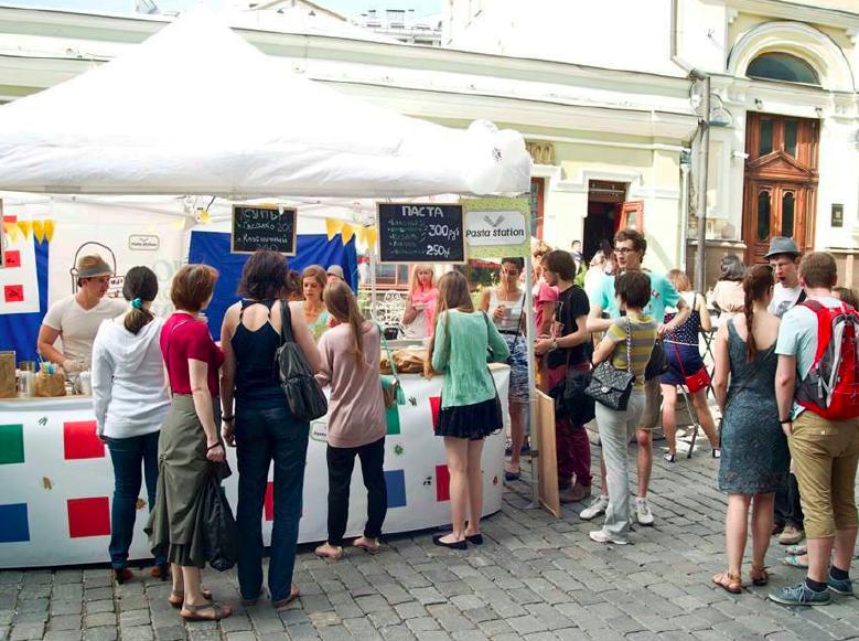 Июльский итальянский фестиваль на Кузнецком мосту - 2014 год