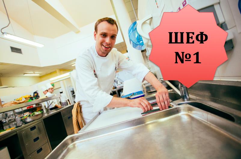 Сергей Березуцкий стал лучшим молодым шеф-поваром мира в 2014 году