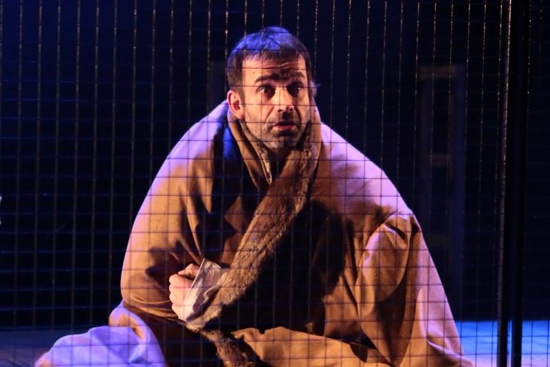 Премьера спектакля «Лунин, или Cтрана рабов»  по пьесе Эдварда Радзинского