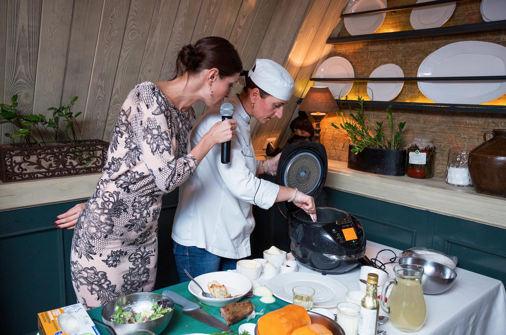 Wi-Fi-мультиварка POLARIS прошла «проверку» грузинской кухней