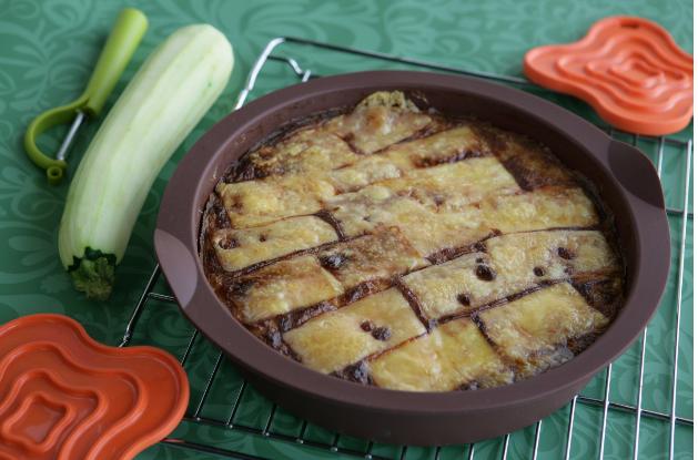 Клафути с кабачками и сыром мимолет