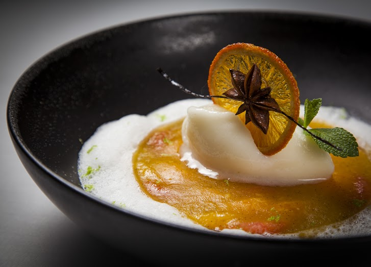 Рецепт террина из цитрусов из Brasserie Мост