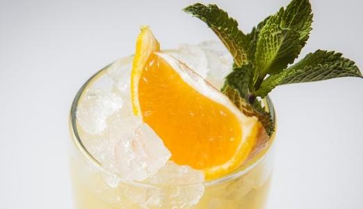 Рецепт мандаринового лимонада с огурцом