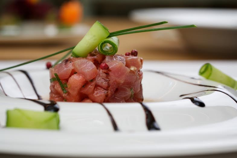 Рецепт севиче из тунца из ресторана Clumba club