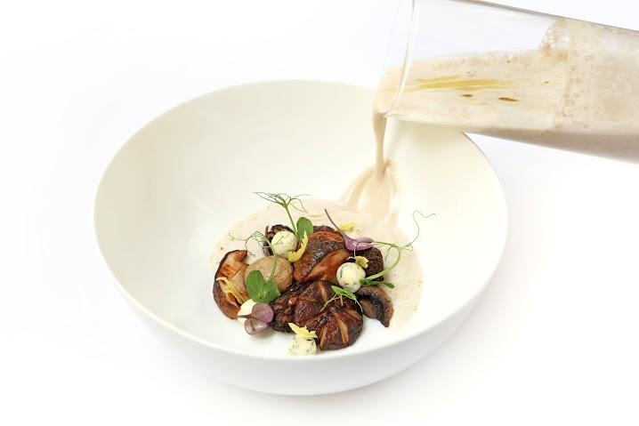 Рецепт грибного супа с сыром Рокфор
