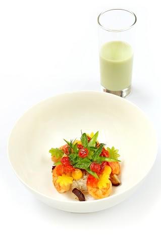 Рецепт креветок карри с жасминовым рисом