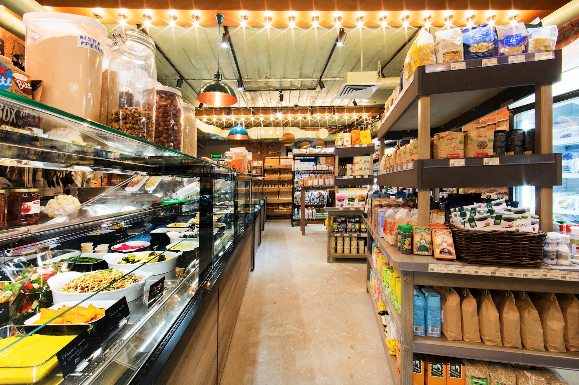 На Патриарших открылся минимаркет «Город-Сад»