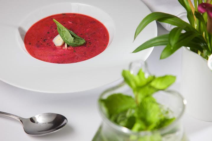 Холодные супы в ресторане МОМО
