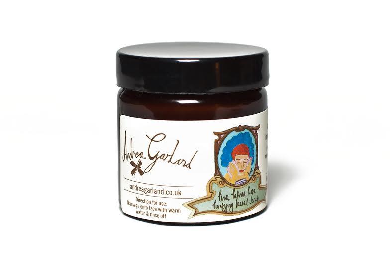 Очищающий скраб для лица с экстрактом пальмовой розы Andrea Garland