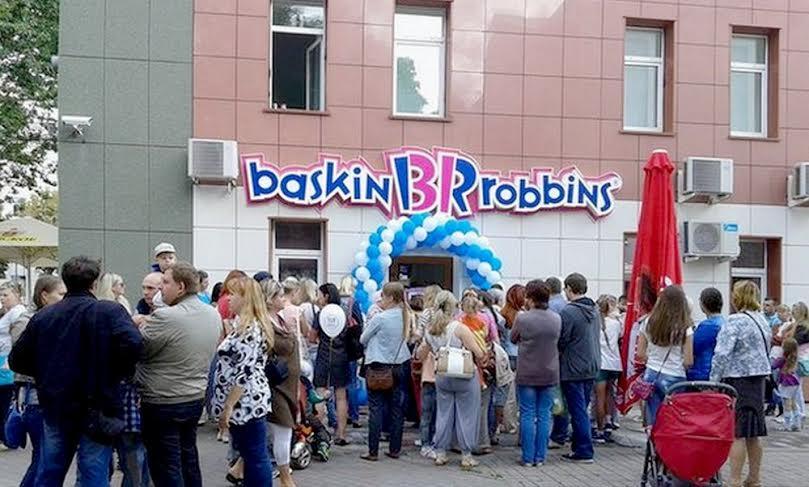 В Беларуси открылось первое кафе-мороженое «Баскин Роббинс»