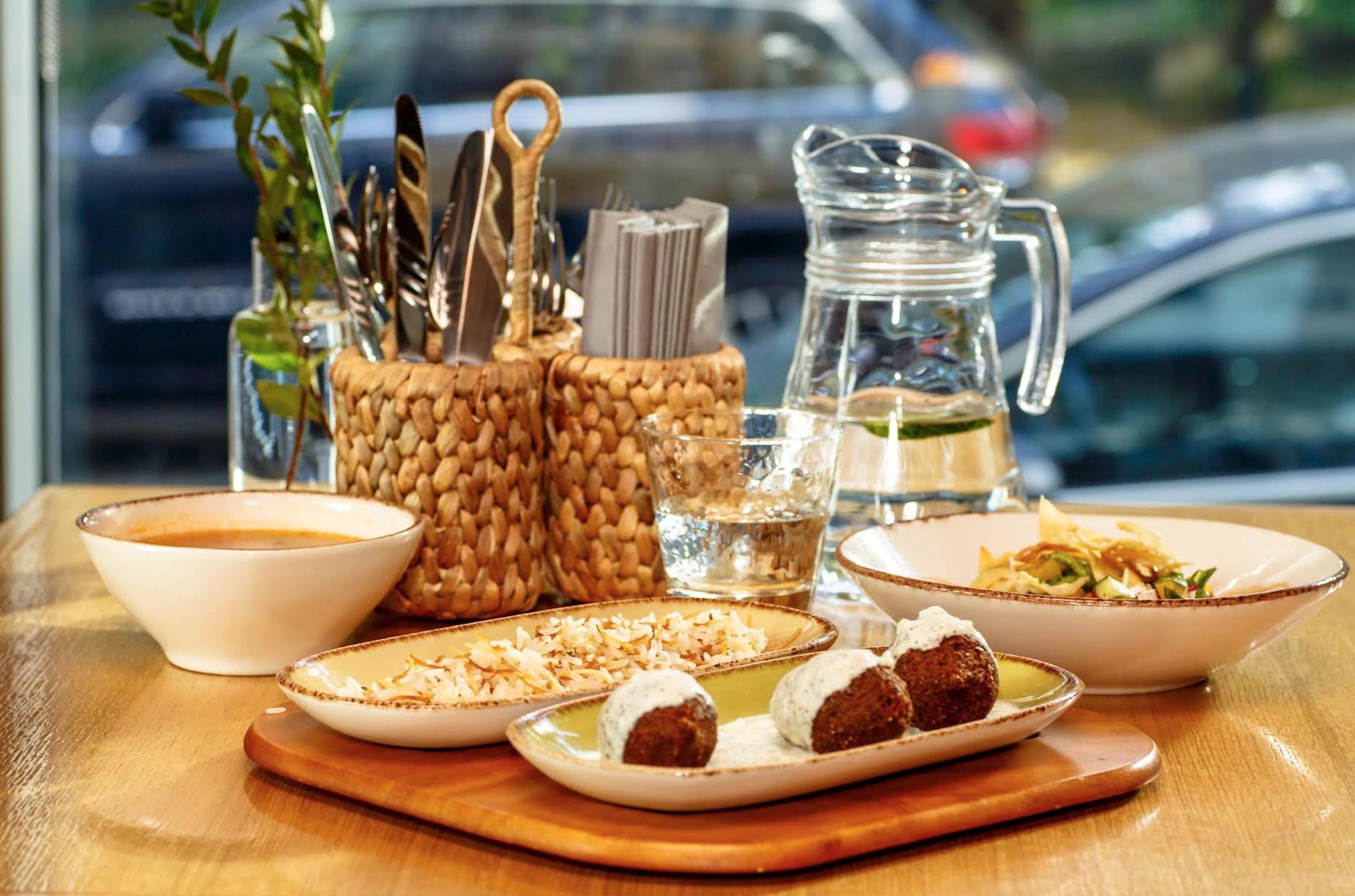 Лучшие ливанские обеды в городе