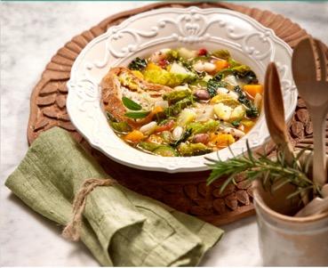 Рецепт оливкового супа от Filippo Berio