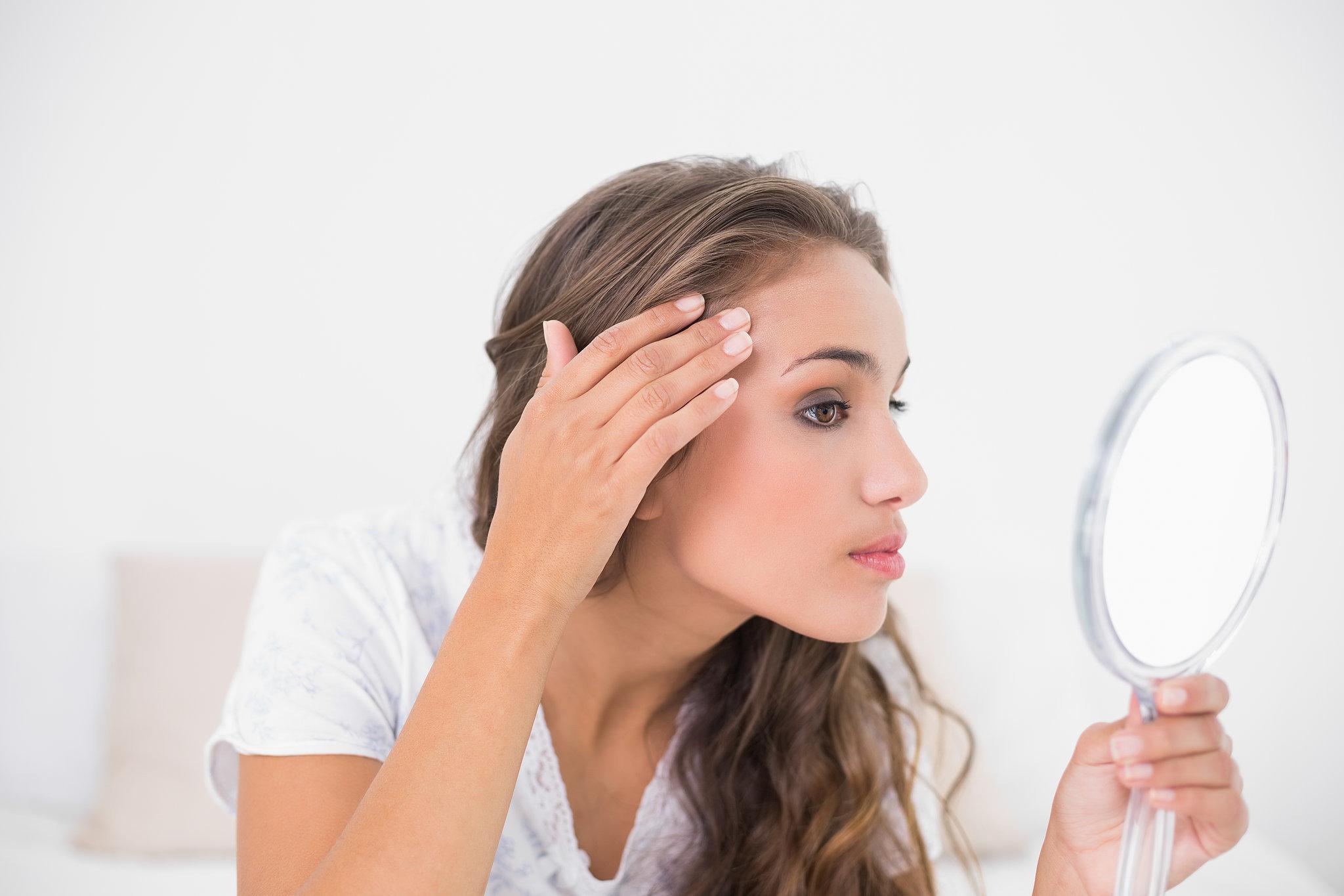 Очищение сухой кожи лица