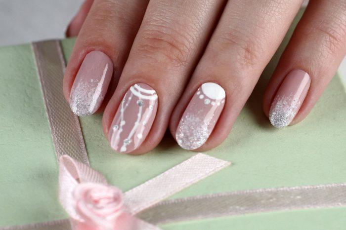 Мастер-класс nail-дизайна «Драгоценности»