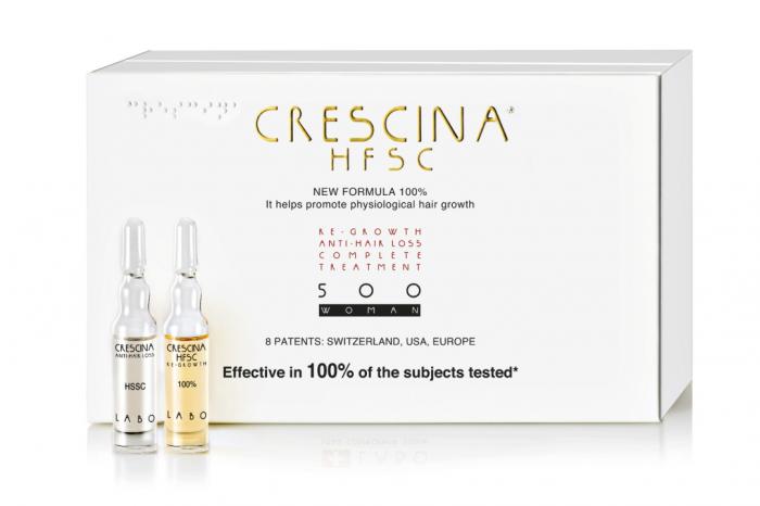 Crescina - инновационный ампульный косметический препарат