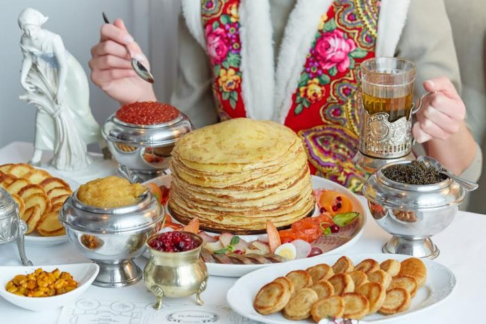 Масленица в ресторанах Москвы