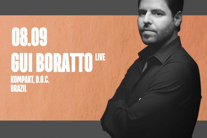 Live-концерт Ги Боратто в Maybe