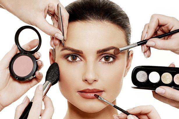 Новогодний поэтапный макияж