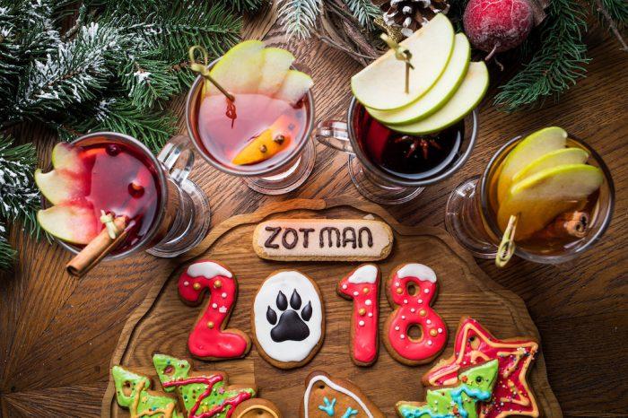 Новогодние краски в Zotman Pizza Pie