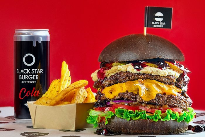 BLACK STAR BURGER выбирает FOODFOX.RU в качестве партнера по доставке