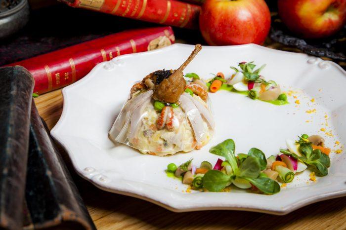 Специальный сет с Cuvée Saint Petersbourg в ресторане «Матрёшка»