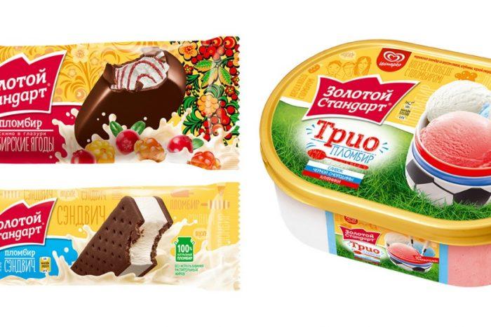 Золотой Стандарт выпустил «сибирское» мороженое со вкусом морошки и брусники