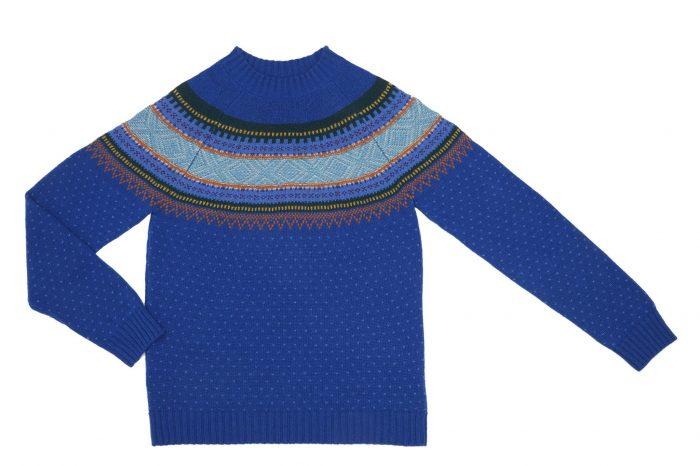 Возвращение легендарных жаккардовых свитеров вместе с United Colors of Benetton