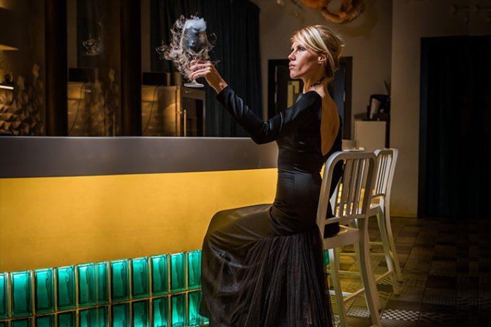 "Halloween - коктейль Black Glamour и Witch Party в ""Cevicheria"""