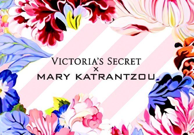 Victoria's Secret и Мэри Катранзу объявили о запуске эксклюзивной коллекции