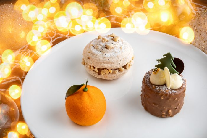 Новогодние десерты в Кофемании