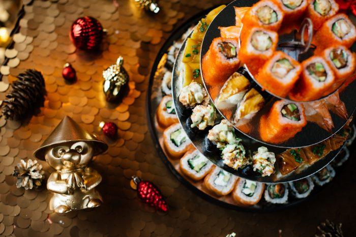 Новогоднее меню в японских ресторанах «Тануки»