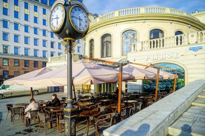 «Центральный рынок» открыл летнюю веранду