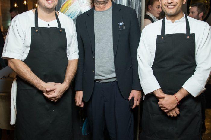 Гастроли шеф-повара ресторана Ronin (Hong Kong) Мэта Абергела