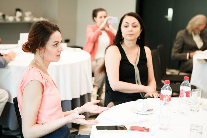 Бизнес-завтрак Первой Женской Академии
