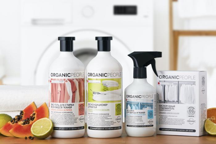 Органическая косметика для дома Organic People